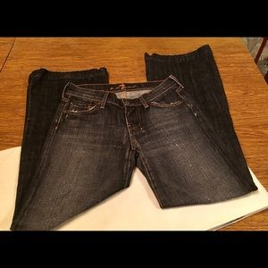 7 For All Mankind Sz 25 Dojo Jeans